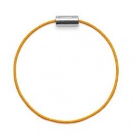 Armbånd sølv gul-20