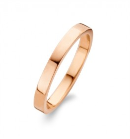 Raw Polished ring rosa-20