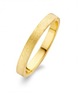 Raw Rustic ring forgyldt-20