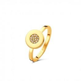 Gaia ring forgyldt-20
