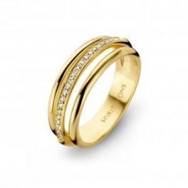 Arch rødguld ring-20