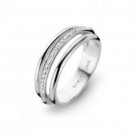 Arch ring, hvidguld-20