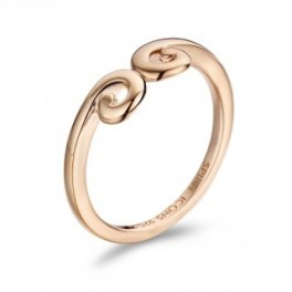 Twist ring rosa-20