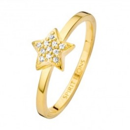 Dream ring zirk. forgyldt-20