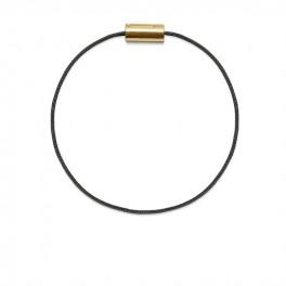 Armbånd guld sort-20