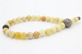 Kranz og Ziegler gul opal armbånd med metal lås-20