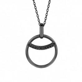 Eclipse halskæde 45 cm sort-20