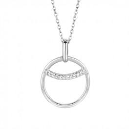 Eclipse halskæde, 45 cm sølv-20
