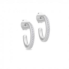 INFINITY sølv ørestikker-20