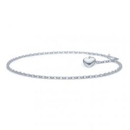 Amour armlænke, sølv-20