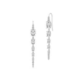 GLAMOUR Sølv Chandelier Ørehængere-20