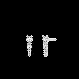 Glamour Sølv Adore Ørestikker-20