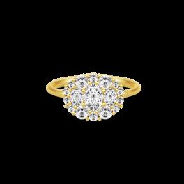 GLAMOUR Forgyldt Ring-20