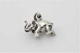Elephant vedhæng, sølv-20