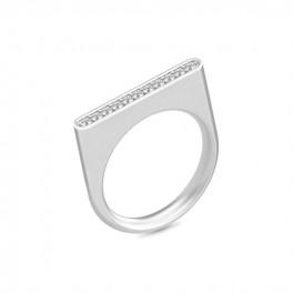 LINEA ring sølvrhodineret-20
