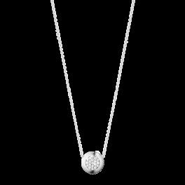 AURORA halskæde hvidguld-20