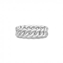CLASSIC chain ring sølv-20