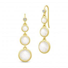 MOON chandeliers, hvid månesten-20