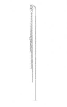FINA sølv ørehænger, enkelt-20