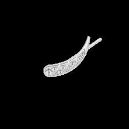 PEACOCK sølv ørestik, venstre-20