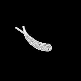 PEACOCK sølv ørestik, højre-20