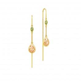 FAIRYTALE tinkerbell chandeliers, peridot og champagne zirk.-20