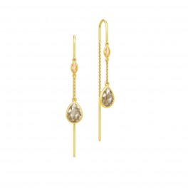 FAIRYTALE tinkerbell chandeliers, røgkvarts og champagne zirk.-20