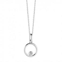 Infinity halskæde sølv-20