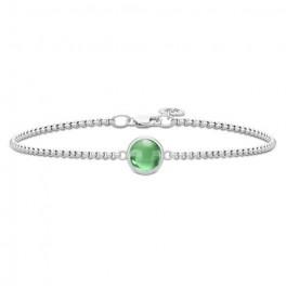 Primini Sølv Armlænke Grøn-20