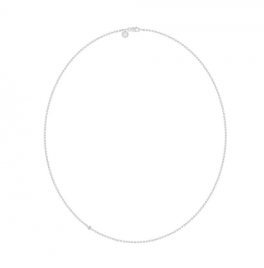 NECKLACE sølv collie 50 cm-20