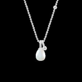 PERLA sølv halskæde-20