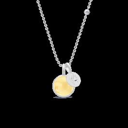 PRIME sølv halskæde, citrin-20