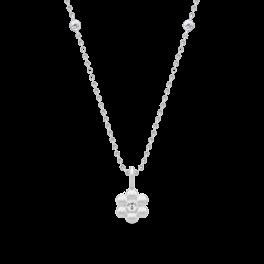 BLOOM sølv halskæde-20