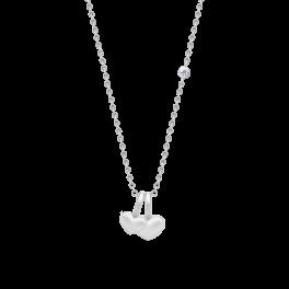TRUE LOVE sølv halskæde-20