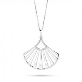 Oriental halskæde sølv-20