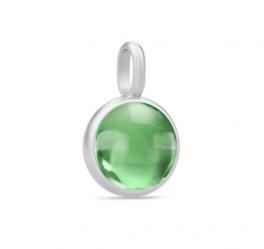 PRIME sølv vedhæng, grøn ametyst-20