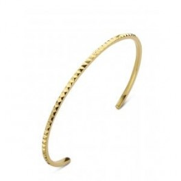 Gold Peak armring, rødguld-20
