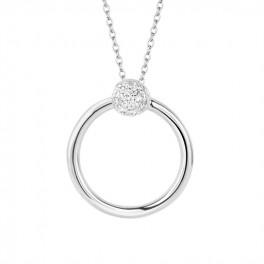 Perfection halskæde 45 cm sølv-20