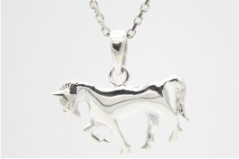 Hest, vedhæng i sølv-20
