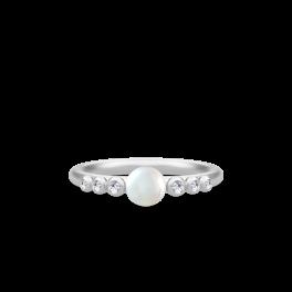 PERLA sølv ring-20