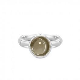 BAMBOO Sølv ring med pyritkvarts-20