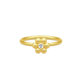 BLOOM forgyldt ring-20