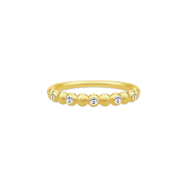 BLOOM forgyldt classic ring-20