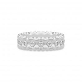 TRUE LOVE sølv ring-20