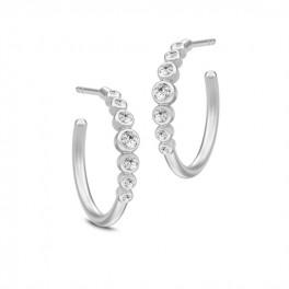 GRACE sølv øreringe store-20