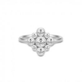 PEONY ring sølv-20