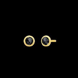 MOON ørestikker, sort onyx-20