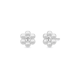 BLOOM sølv ørestikker-20
