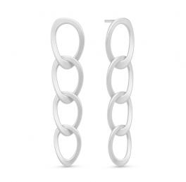 AVA sølv ørestikker, fire ringe-20