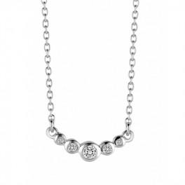 Temptation sølv halskæde-20
